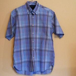 Vintage Tommy Hilfiger Men's Short Sleeve Shirt